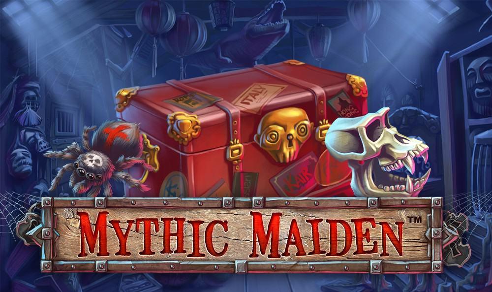 Mythic Maiden slot hoempage