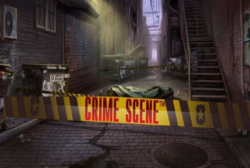 crime scene slot machine